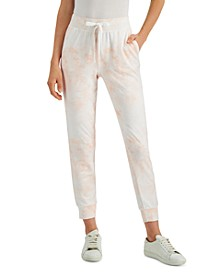 Petite Tie-Dyed Joggers, Created for Macy's