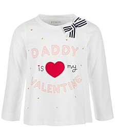 Toddler Girls Valentine Long-Sleeve Cotton T-Shirt, Created for Macy's