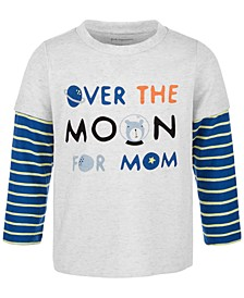 Toddler Boys Over The Moon Long-Sleeve T-Shirt, Created for Macy's
