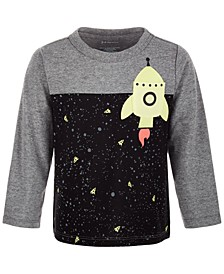 Baby Boys Rocket Pocket T-Shirt, Created for Macy's