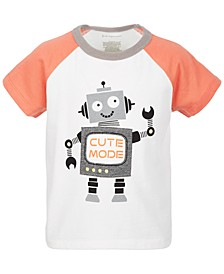 Toddlers Boys Cute Mode Cotton T-Shirt, Created for Macy's