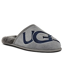 Men's Scuff Logo Slipper