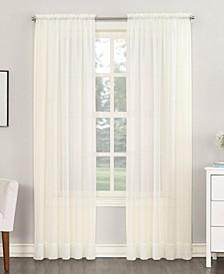 "Emily Rod Pocket Curtain Panel, 59"" x 120"""