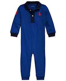Baby Boys Big Pony Cotton Coverall