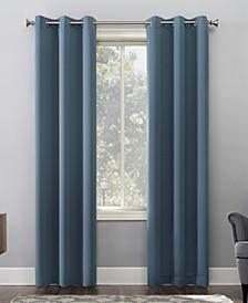 "Preston Blackout Grommet Curtain Panel, 40"" x 108"""
