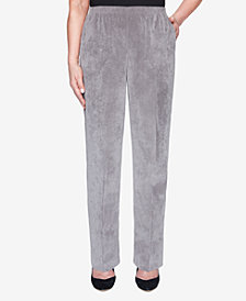 Alfred Dunner Women's Plus Size Classics Proportioned Medium Pant