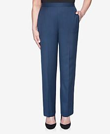 Women's Plus Size Wisteria Lane Melange Proportioned Short Pant