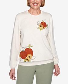 Women's Plus Size Classics Pumpkin Top