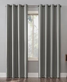 "Oslo 52"" x 63"" Theater Grade Blackout Grommet Curtain Panel"