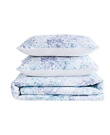 Charlotte Floral 3 Piece King Comforter Set