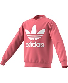 Big Girls Trefoil Sweatshirt
