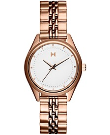Women's Rise Mini Rose Gold-Tone Bracelet Watch 30mm