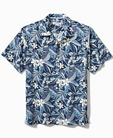 Men's Paradise Plumeria Camp Shirt