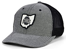 Top of the World Ohio State Buckeyes Blackline Trucker Cap