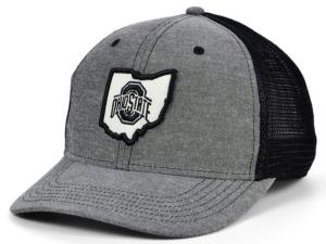 Top of the World Ohio State Buckeyes Blackline Trucker Cap