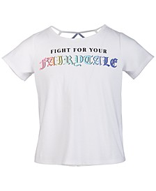 Big Girls Graphic T-Shirt, Created for Macy's