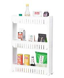 Vintiquewise Plastic Storage Cabinet Organizer