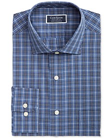 Men's Heritage Classic/Regular-Fit Performance Stretch Plaid Dress Shirt, Created for Macy's