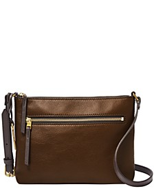 Women's Fiona East West Leather Crossbody