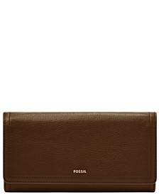 Women's Logan Leather Flap Wallet