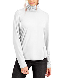 Eileen Fisher Solid Turtleneck Top