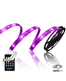 Monster Illumination: Sound To Light LED Color Changing Strip Light With Music & Sound Sync