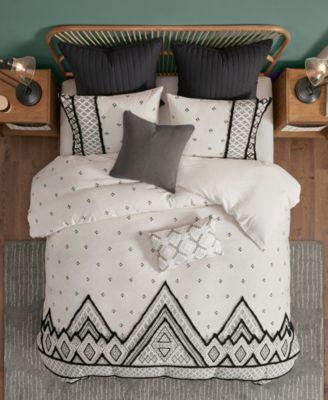 Marta 3 Piece Cotton Comforter Set, Full/Queen