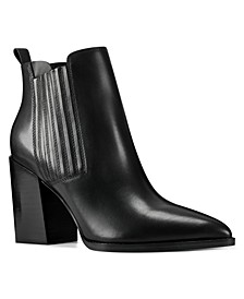 Women's Medium Beata Block Heel Ankle Booties
