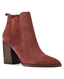 Women's Medium Beata Block Heel Ankle Booties