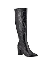 Nine West Women's Medium Adaly Tall Boots