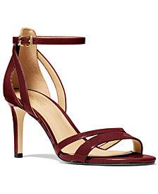 Michael Michael Kors Kimberly Ankle-Strap Sandals