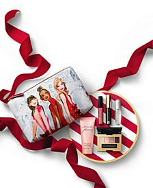 Limited Edition. Free Gift. Beautiful, Pleasures or Beautiful Belle with any $55 Estée Lauder fragrance purchase. An $87 value!