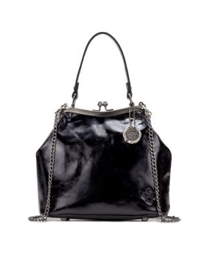 Vintage Handbags, Purses, Bags *New* Patricia Nash Laureana Frame Satchel $89.40 AT vintagedancer.com