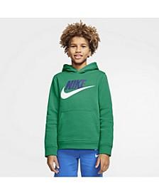 Big Boys Sportswear Club Fleece Pullover Hoodie