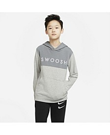 Big Boys Sportswear Swoosh French Terry Hoodie