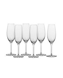 Cru Classic Champagne, 8.4oz - Set of 6