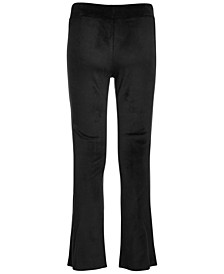 Big Girls Velour Flare Pants, Created for Macy's