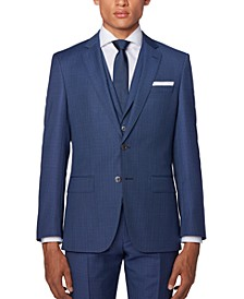 BOSS Men's Hutson5/Gander3 Slim-Fit Three-Piece Suit