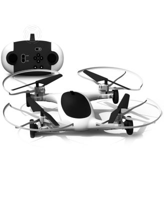 """Sharper Image Fly and Drive 7"""" Drone"""