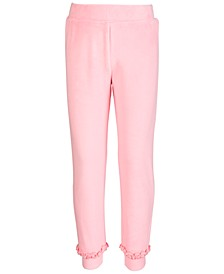 Little Girls Velour Jogger Pants, Created for Macy's