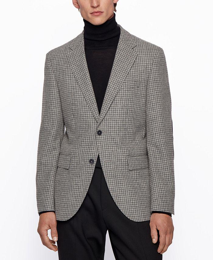 Hugo Boss - Men's Jestor6 Regular-Fit Jacket