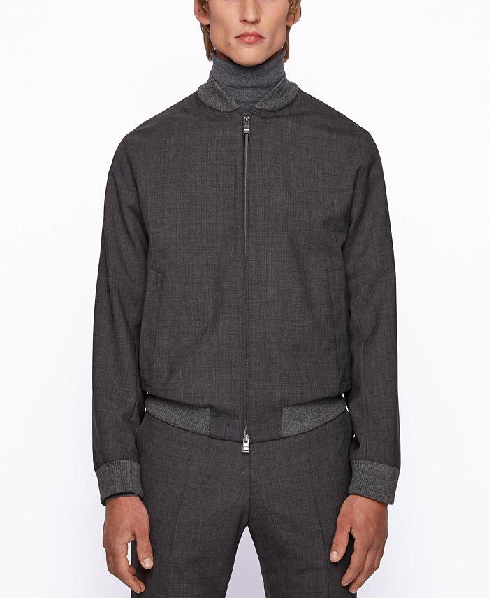 Hugo Boss - Men's Nolwin1 Slim-Fit Jacket