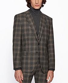 BOSS Men's Huge6/Genius5 Slim-Fit Three-Piece Suit