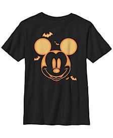 Big Boys Mickey Pumpkin Tee