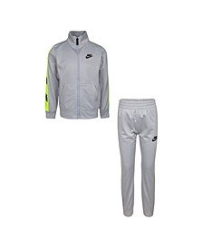 Little Boys 2-Piece Tracksuit Set
