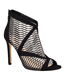 Ira Women's Mesh Peep Toe Booties