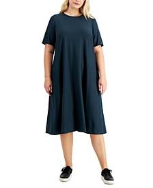 Plus Size Crewneck Dress