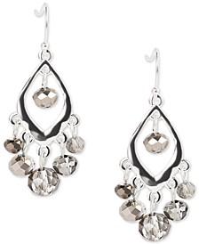 Silver-Tone Shaky Bead Drop Earrings, Created for Macy's