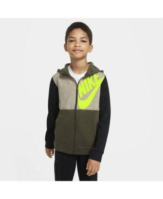 Big Boys Sportswear Full-Zip Hoodie
