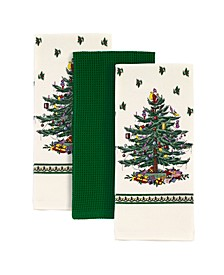 Christmas Tree 3pc Kitchen Towels
